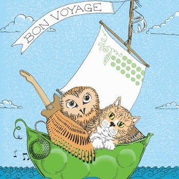 edward lear fairtla epoetry nonsense poem owl and the pussycat illustration by Sally Barnett illustrator designer frome bath bristol