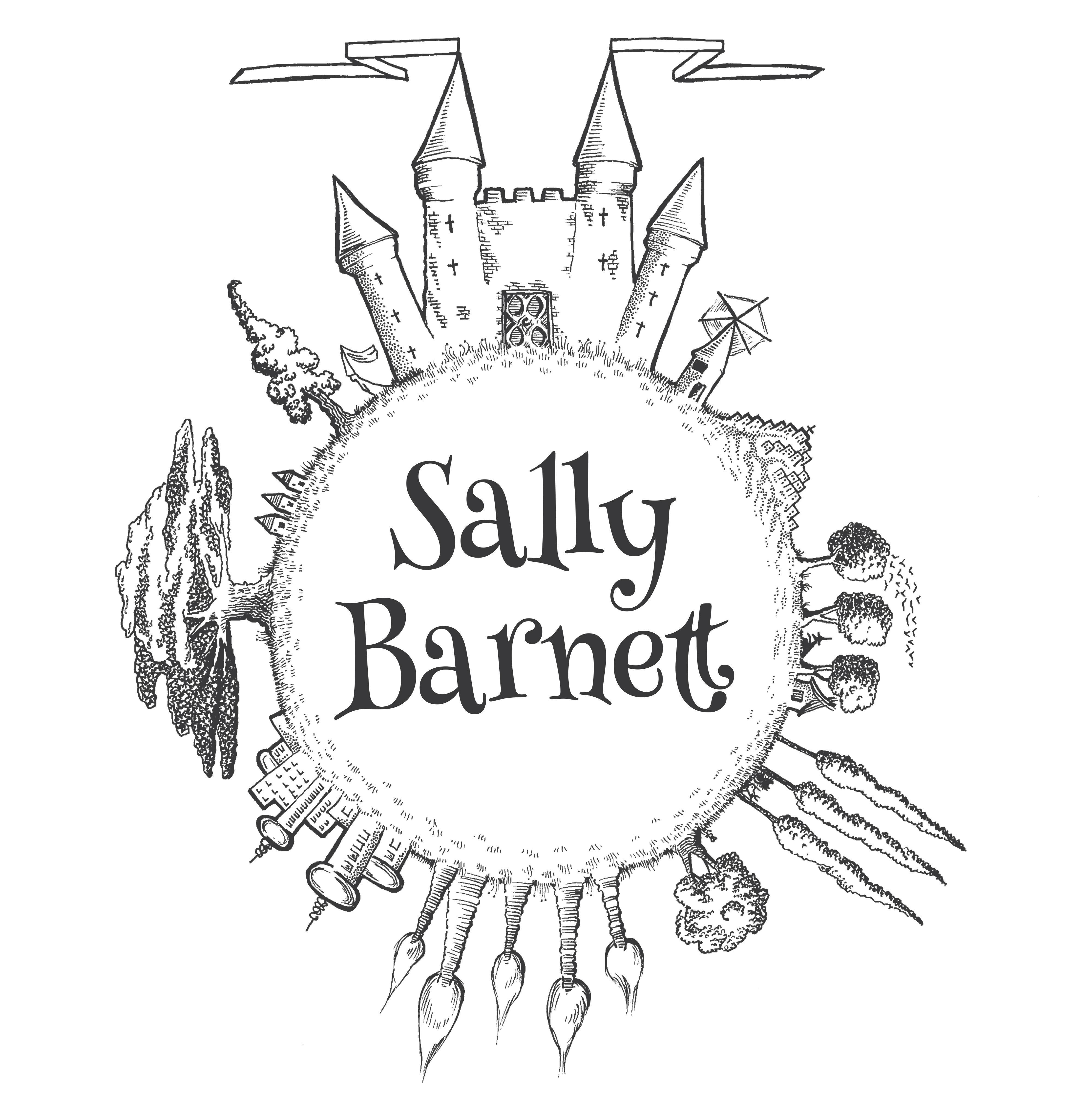 Sally Barnett Fantasy and Fairytale book illustration Illustrator Graphic designer Bath Bristol Frome